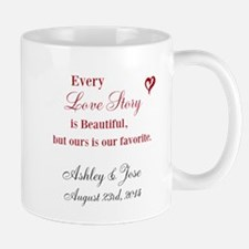 Personalized Bride Groom Mugs
