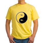 Yin-Yang Yellow T-Shirt