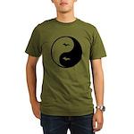 Yin-Yang Organic Men's T-Shirt (dark)
