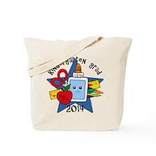 School Supplies K-Grad 14 Tote Bag