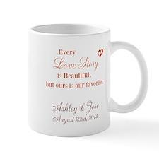 Personalize Bride Groom Mugs