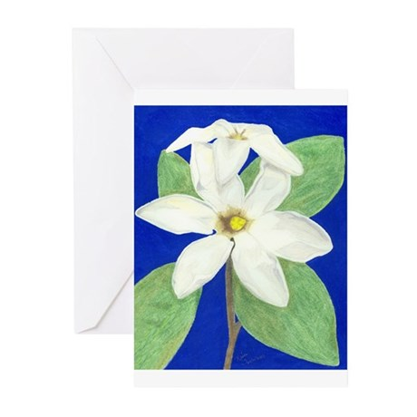 Gardenia Blank Greeting Cards (Pk of 10)