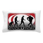 Evolution Soccer Pillow Case