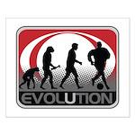 Evolution Soccer Small Poster