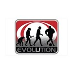 Evolution Soccer 35x21 Wall Decal