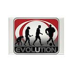 Evolution Soccer Rectangle Magnet