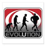 Evolution Soccer Square Car Magnet 3
