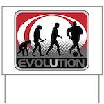 Evolution Soccer Yard Sign