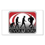Evolution Soccer Sticker (Rectangle 10 pk)