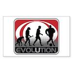 Evolution Soccer Sticker (Rectangle 50 pk)