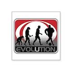 Evolution Soccer Square Sticker 3