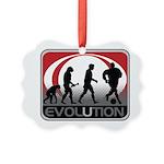 Evolution Soccer Picture Ornament