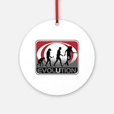 Evolution Scuba Diver Ornament (Round)