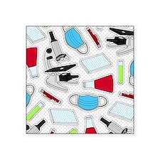 Cute Laboratory Pattern Sticker