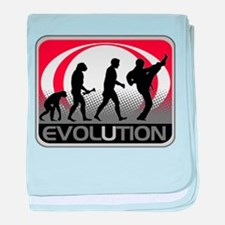 Evolution Martial Arts baby blanket