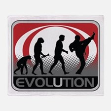 Evolution Martial Arts Throw Blanket