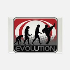Evolution Martial Arts Rectangle Magnet