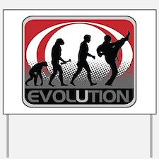 Evolution Martial Arts Yard Sign