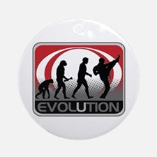 Evolution Martial Arts Ornament (Round)