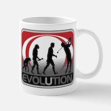 Evolution Golfer Mug