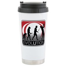 Evolution Golfer Travel Coffee Mug