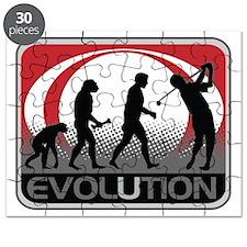 Evolution Golfer Puzzle