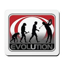 Evolution Golfer Mousepad