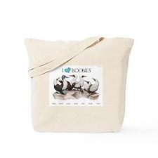 I Heart Boobies Tote Bag