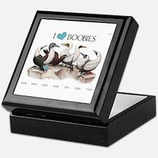 I Heart Boobies Keepsake Box