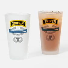 Sniper CIB Airborne Drinking Glass