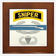 Sniper CIB Airborne Framed Tile