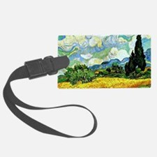 Van Gogh - Wheat Field with Cypr Luggage Tag