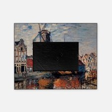 Monet - Windmill on the Onbekende Ca Picture Frame