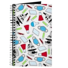 Cute Laboratory Pattern Journal