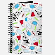 Cute Laboratory Pattern Journal