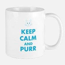 Keep Calm Cat Mug Mugs