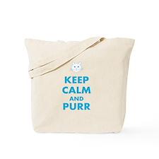 Keep Calm Cat Tote Bag