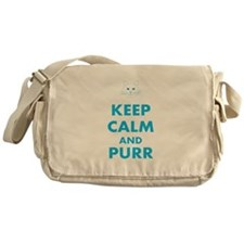 Keep Calm Cat Messenger Bag