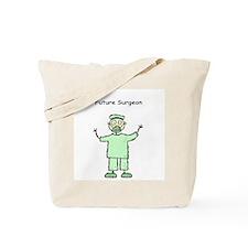 Future Surgeon Green Scrubs Tote Bag
