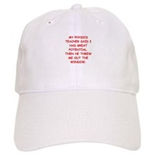 physics Baseball Baseball Cap