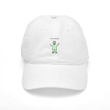 Future Surgeon Green Scrubs Baseball Cap