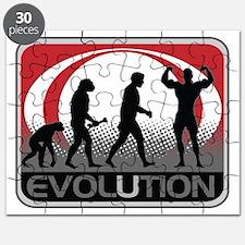 Evolution Bodybuilder Puzzle