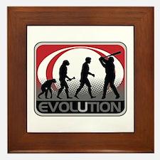 Evolution Baseball Framed Tile