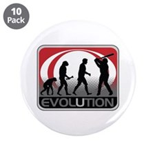 """Evolution Baseball 3.5"""" Button (10 pack)"""