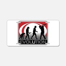 Evolution Baseball Aluminum License Plate