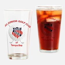 AAU Junior Golf Logo Drinking Glass