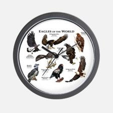 Eagles of the World Wall Clock