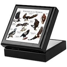 Eagles of the World Keepsake Box