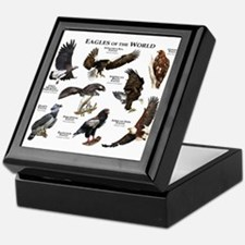 Eagles of the World Keepsake Box