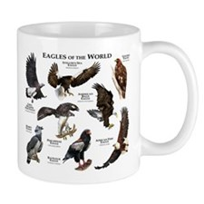 Eagles of the World Small Mugs